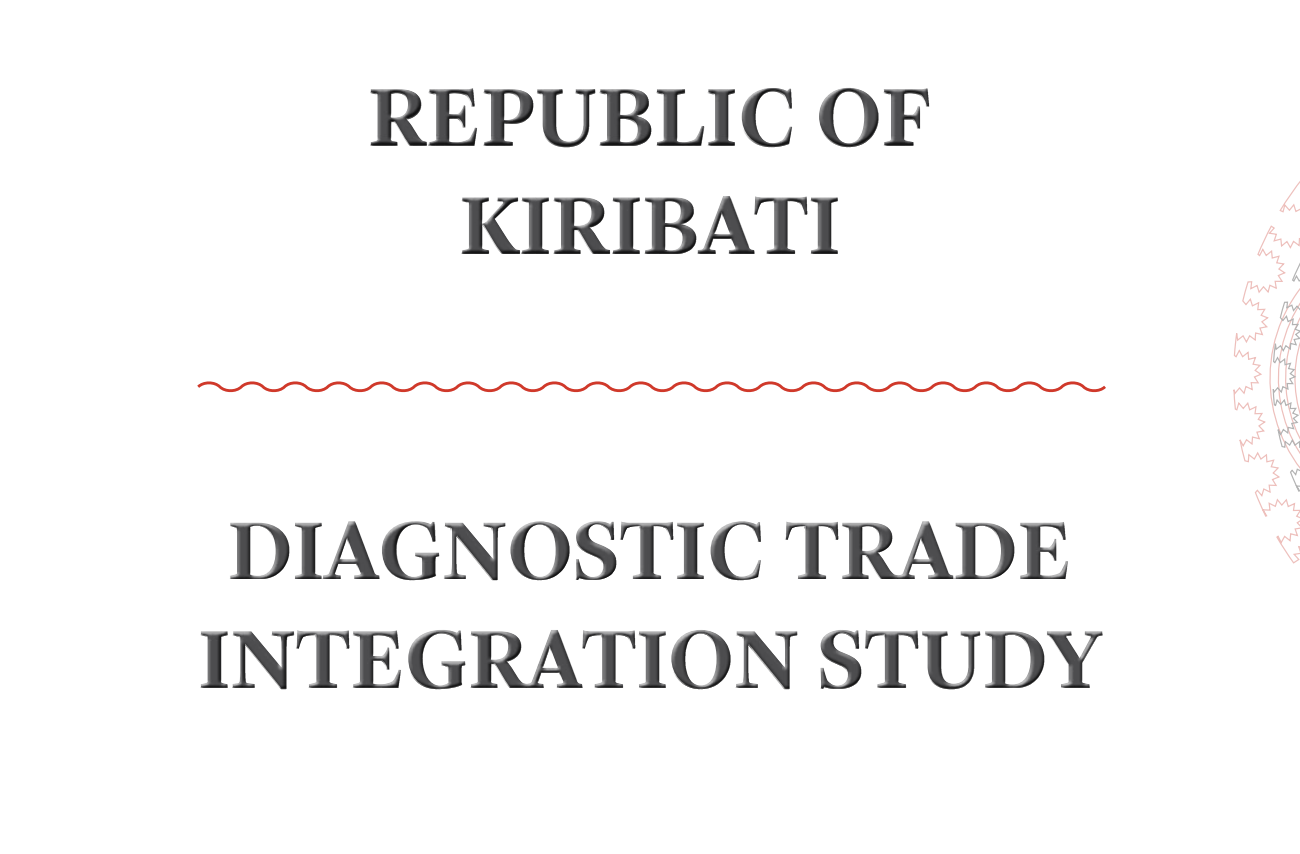 Republic Of Kiribati Diagnostic Trade Integration Study Solid State Relay Jakarta